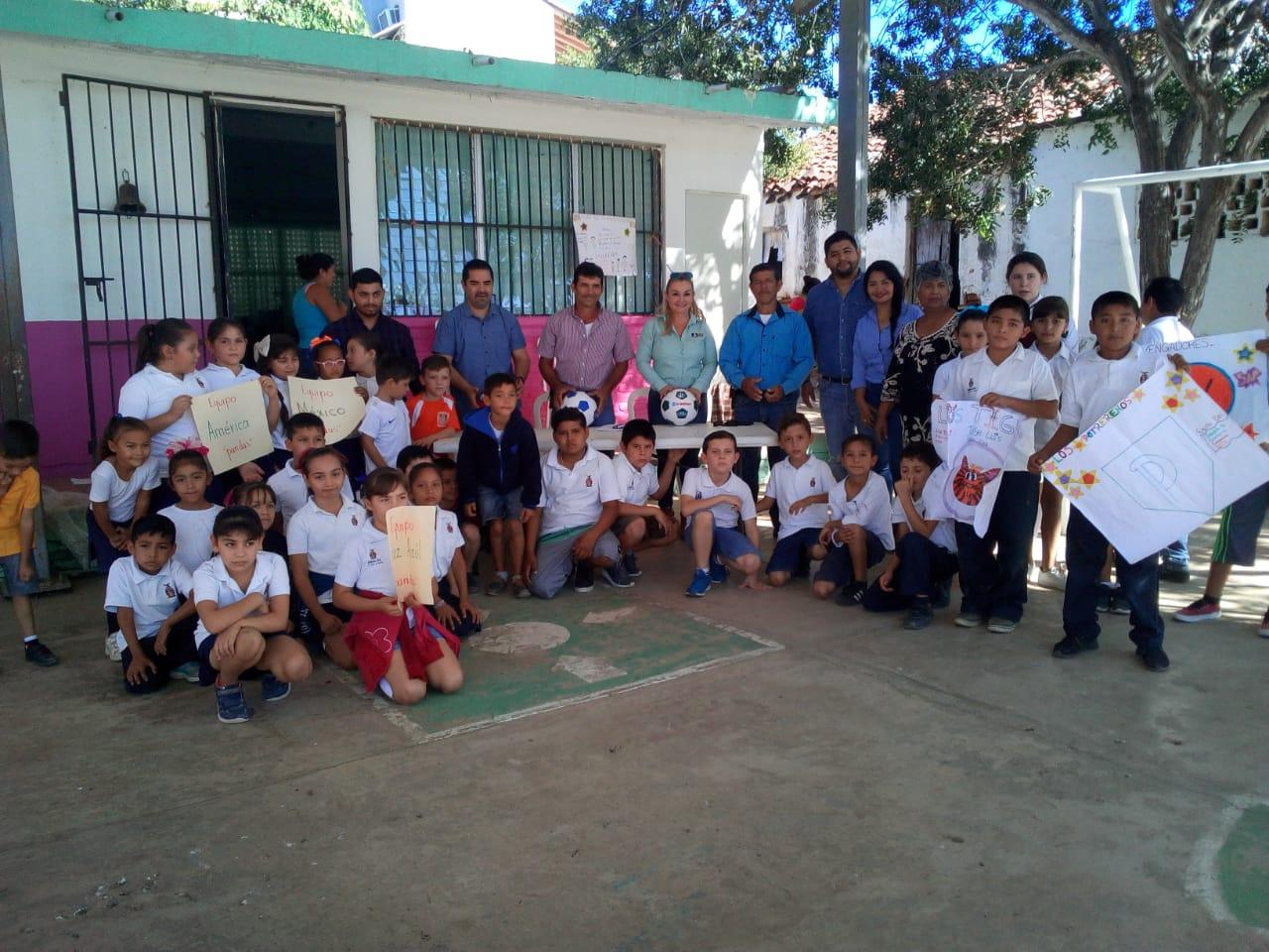 Escuela General Carrasco se une al Programa Deportivo del Imdem