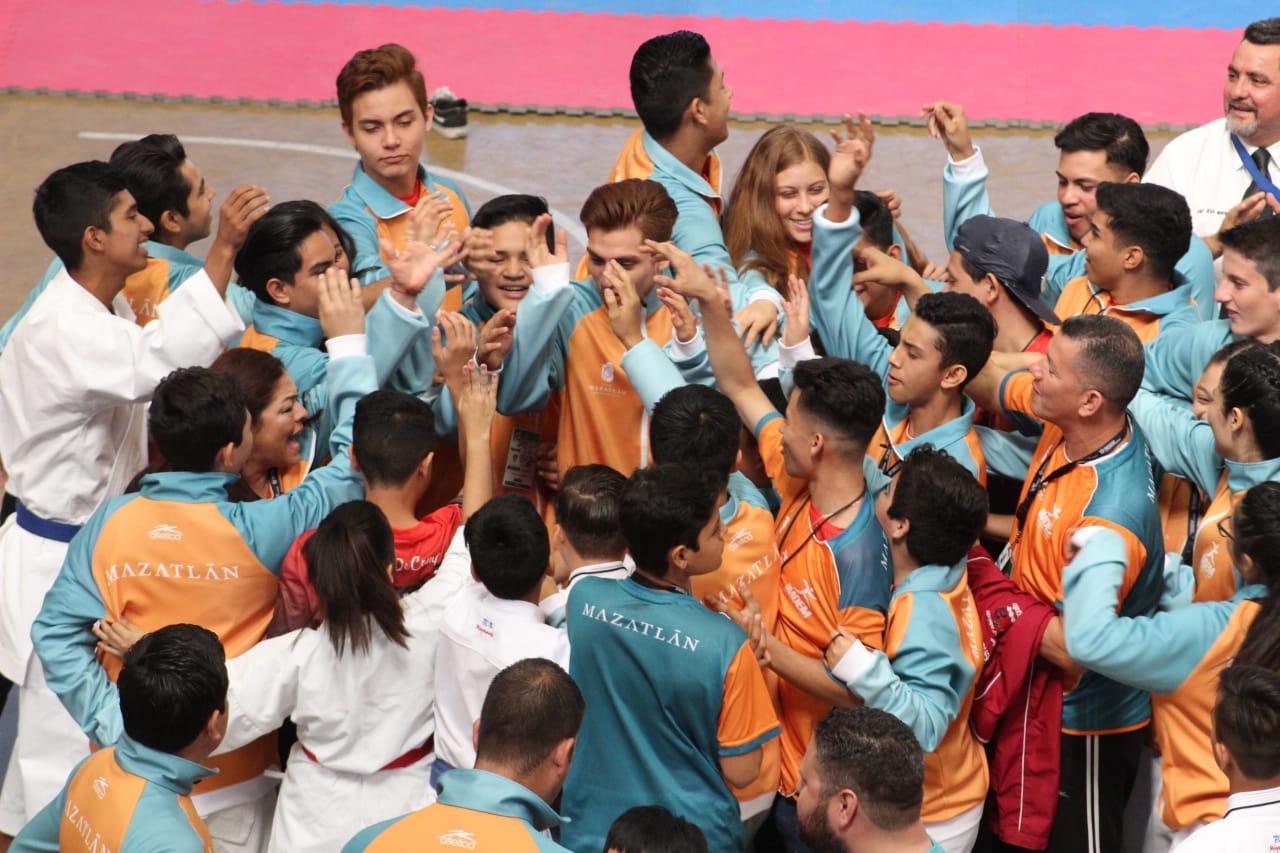 Sella Mazatlán un buen fin de semana en la Olimpiada Estatal 2019
