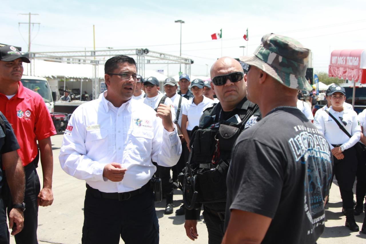 Inicia Ayuntamiento operativo de seguridad por celebración de la Legendaria Semana Internacional de la Moto