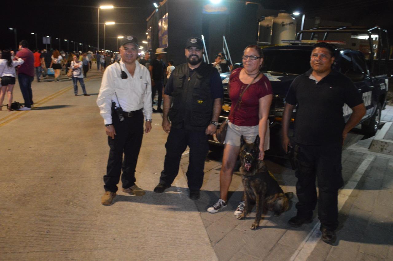 Cierra sábado de operativo con desfile y el magno evento del Mazatlán Fest