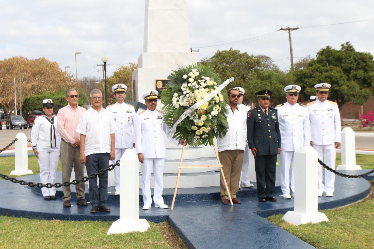 Conmemoran 105 aniversario de la gesta heroica de la defensa del Puerto de Veracruz