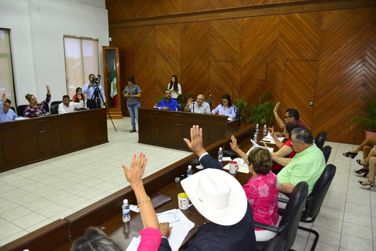 El pleno del Cabildo aprueba crédito de 16 millones de pesos a Jumapam