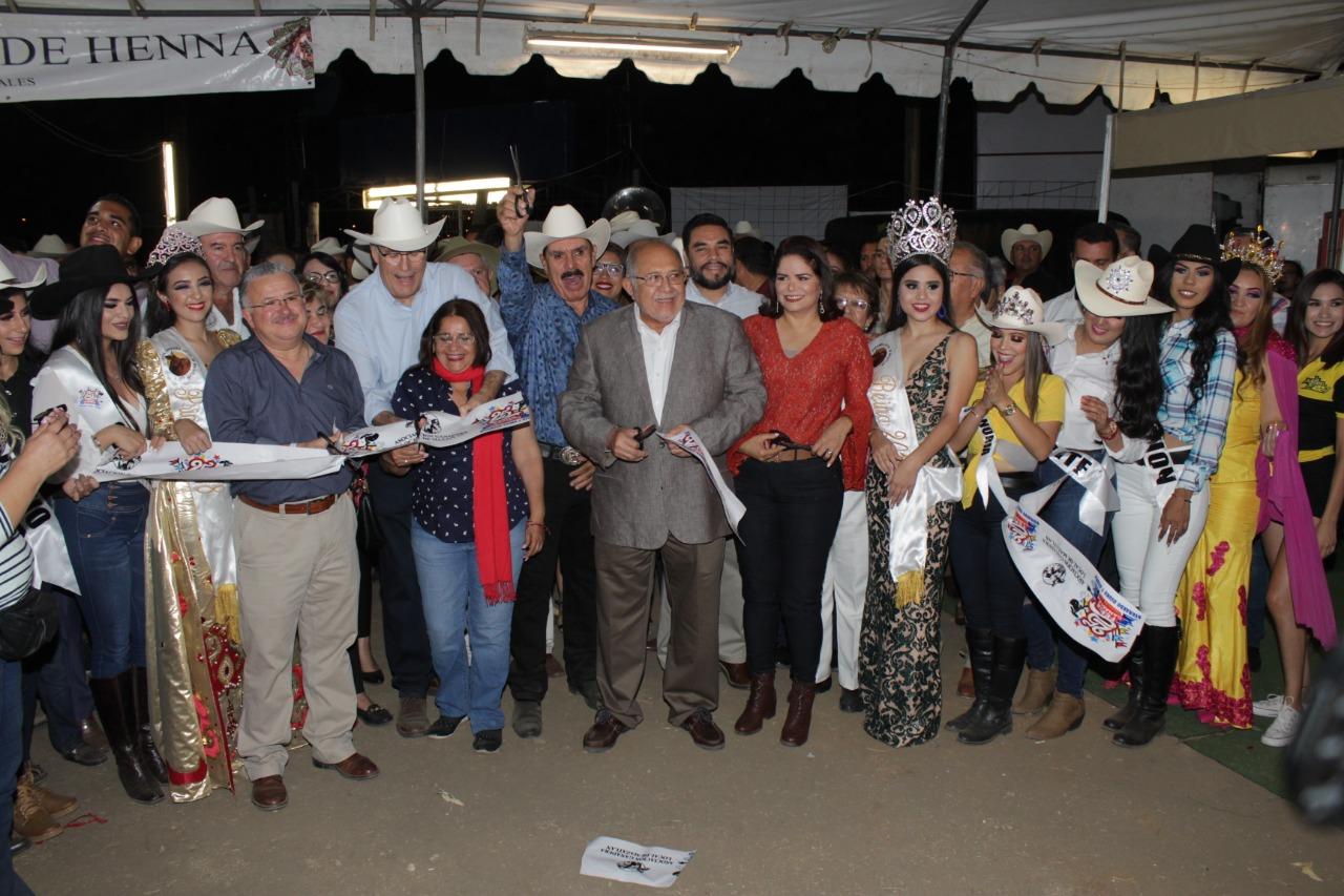 Inaugura el Químico Benítez la Feria Ganadera de Mazatlán 2019