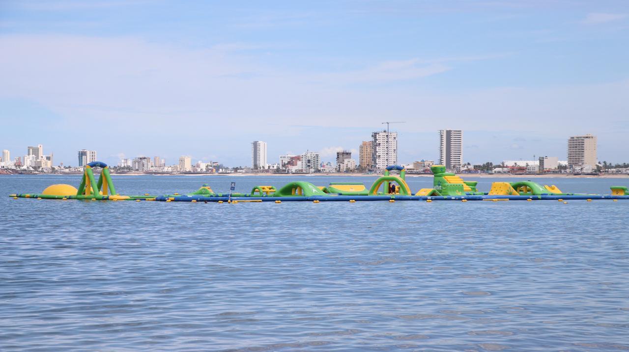 Suspende Protección Civil Municipal operación de parque acuático en Playa Norte