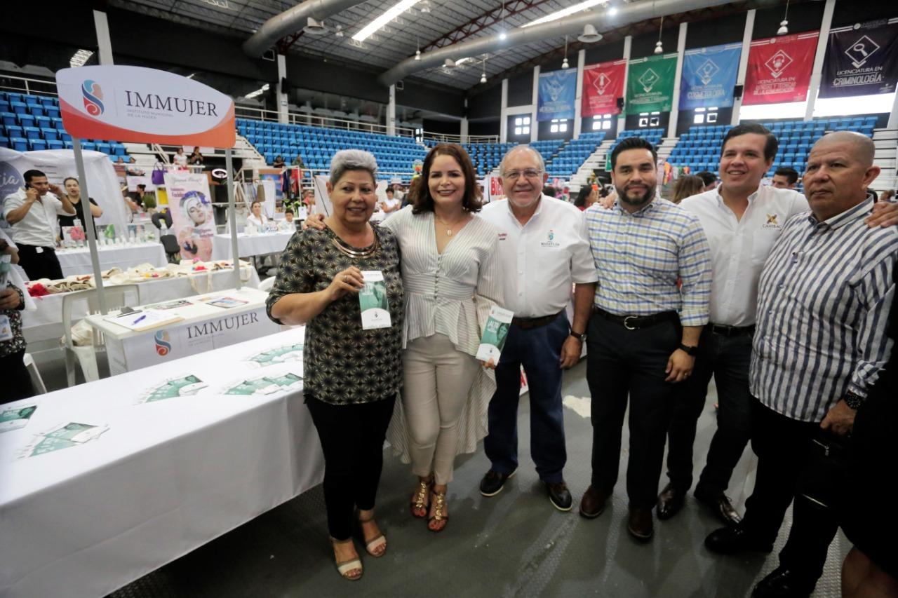 Inauguran la expo Mazatleca Emprende 2019
