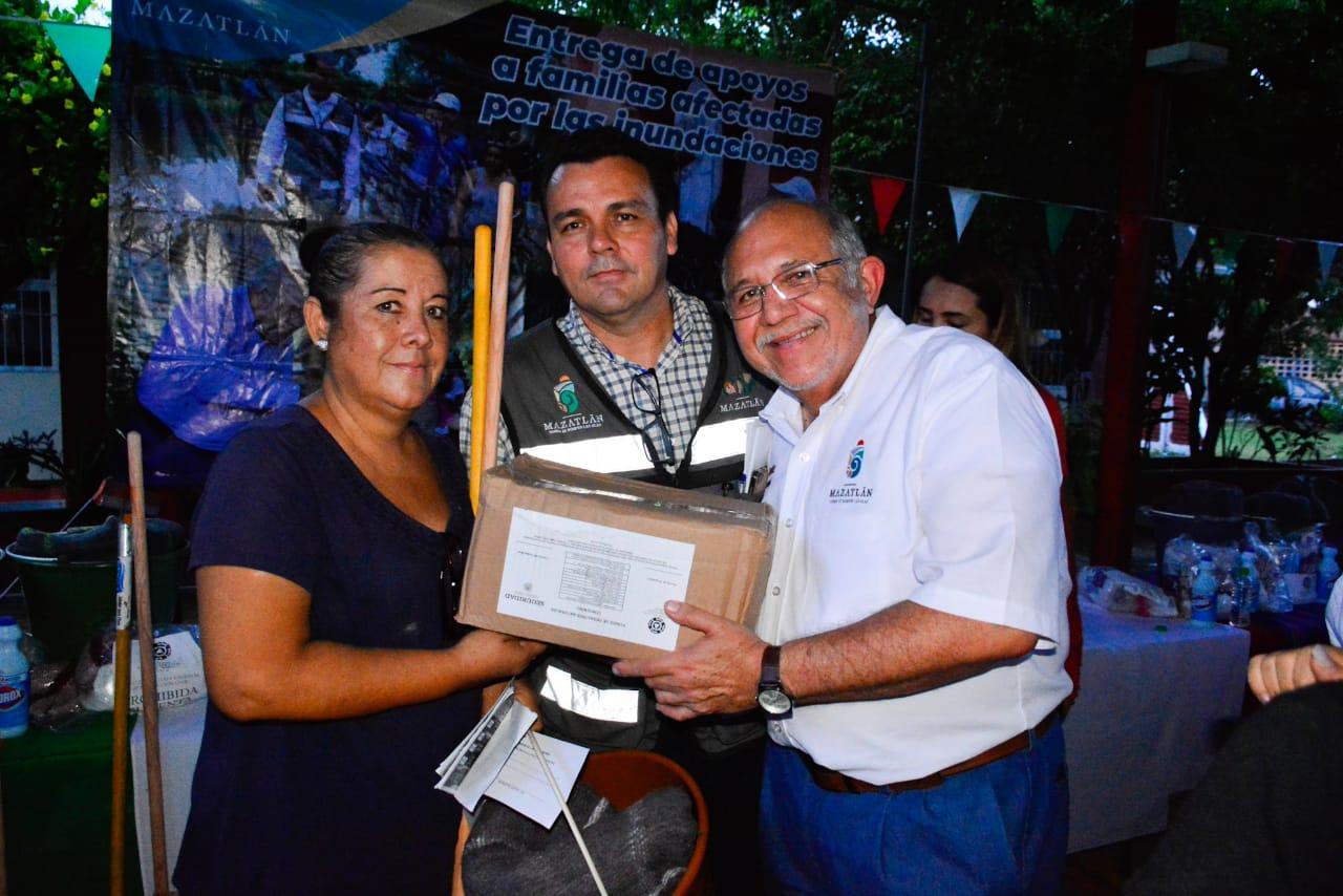 Gobierno de Mazatlán busca solucionar inundaciones en los márgenes del arroyo Jabalines