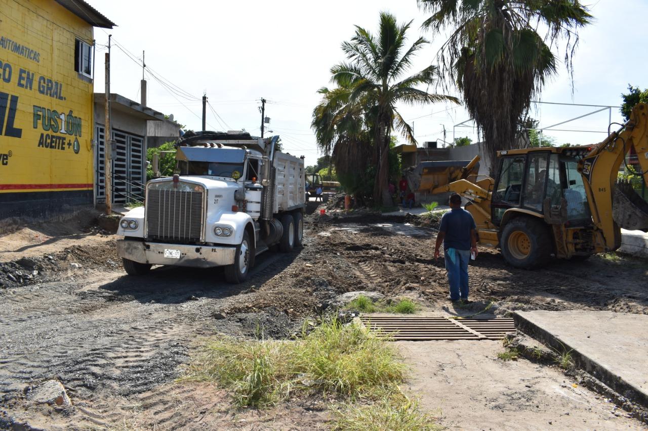 Jumapam mantiene el trabajo constante en la colonia Juan Carrasco