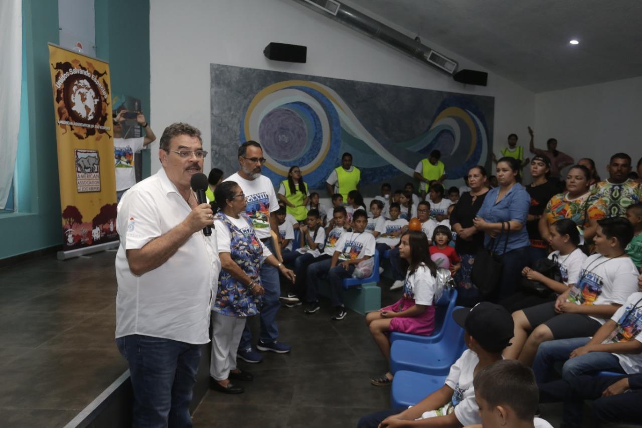 Concluye el 33 Encuentro de la Niñez del Noroeste de México por la Conservación de la Tortuga Marina