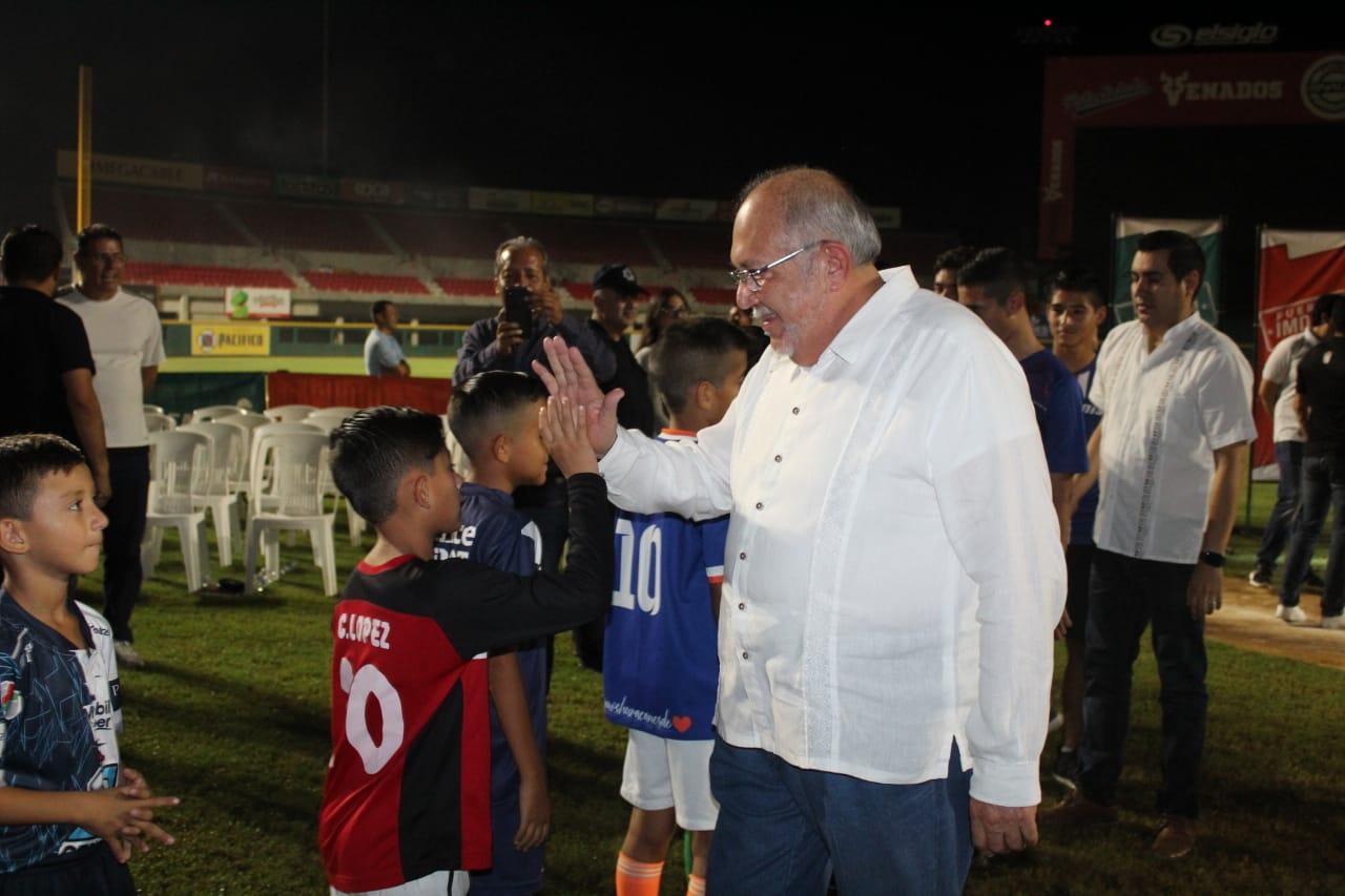 Realiza Imdem histórica apertura de futbol de Mazatlán