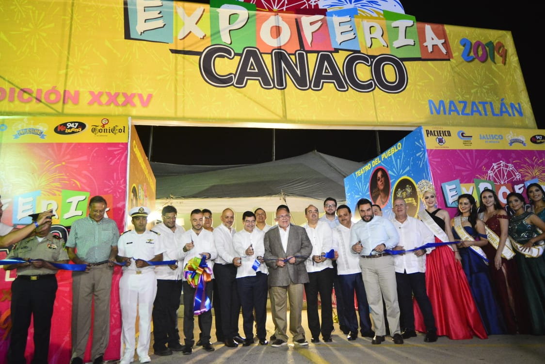 Inauguran la Expo Canaco Mazatlán 2019