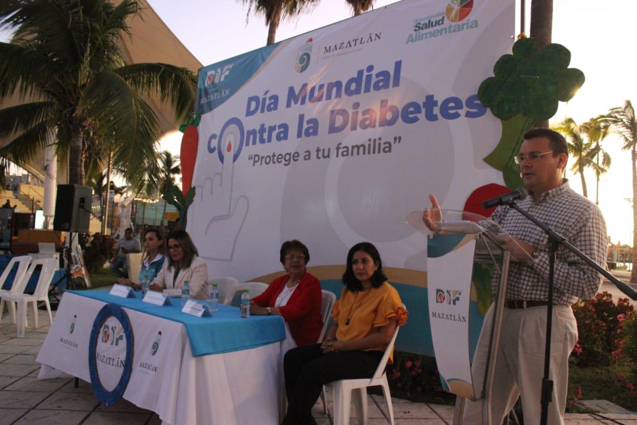 Promueve DIF Mazatlán la prevención de la diabetes
