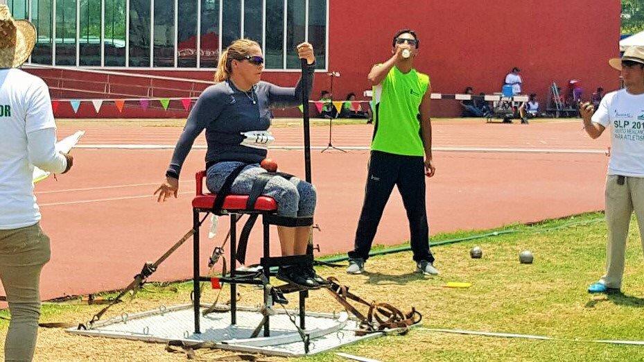 Califica Rosa María Guerrero a sus primeros Juegos Paralímpicos