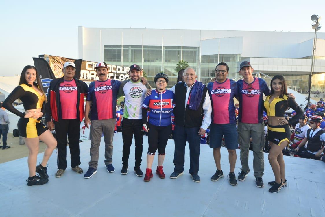 Recibe Mazatlán a más de 2 mil ciclistas con los brazos abiertos