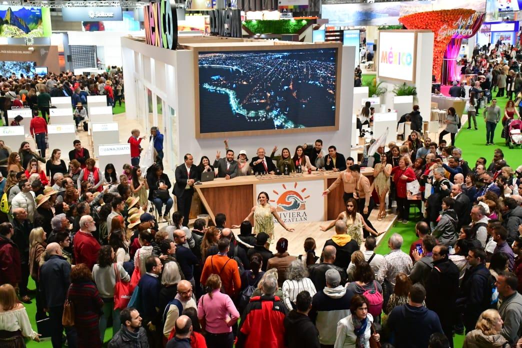 Continúa el éxito del stand de la Riviera Mazatlán en la Fitur 2020