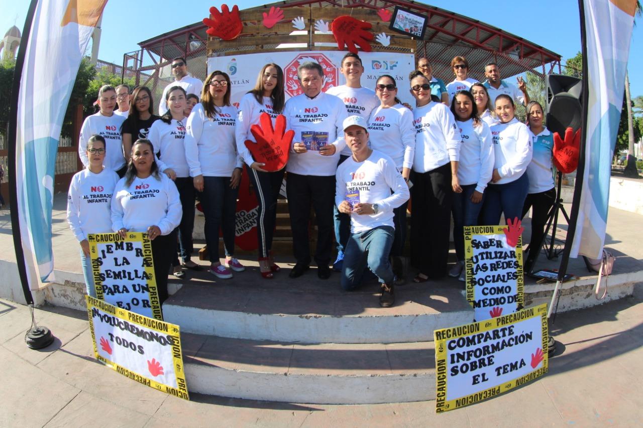 DIF Mazatlán apercibió 34 menores laborando en los días de carnaval