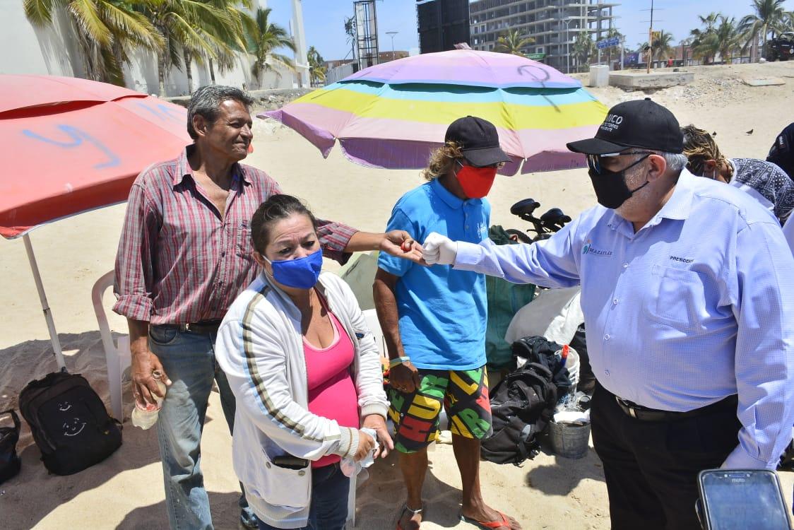 Aplica Municipio operativo en playas para mitigar el Covid-19