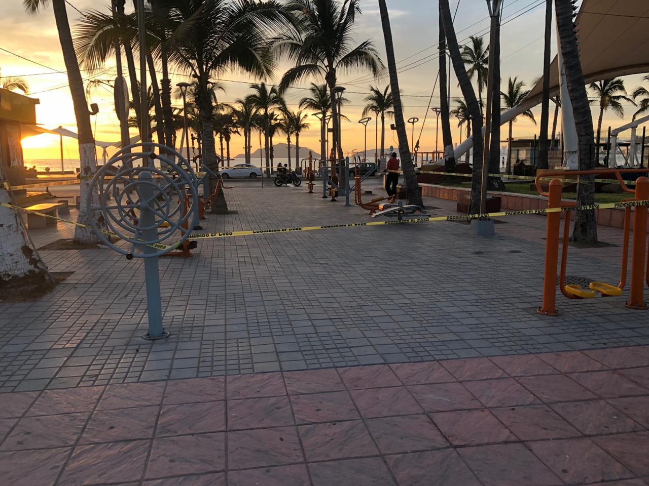 Cierran hasta nuevo aviso, gimnasios al aire libre de Playa Norte y Kilómetro Cero