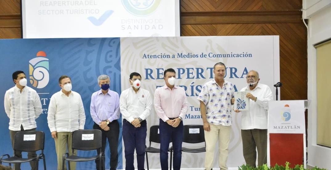 Presentan en Mazatlán Plan de Apertura de Servicios Turísticos