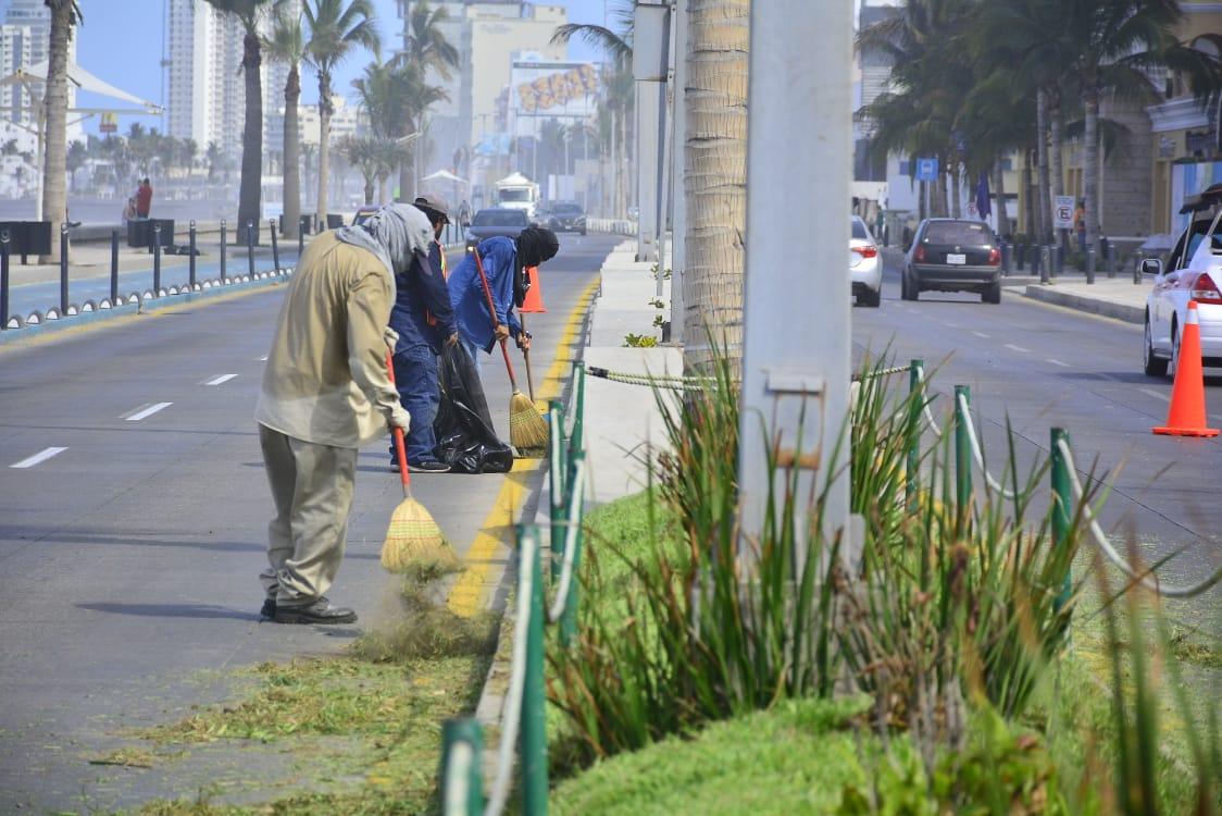 Está listo el malecón para la reapertura turística de Mazatlán