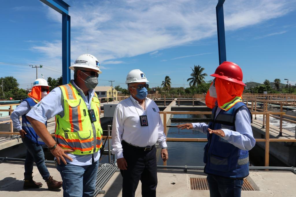 En operaciones, la Planta de Tratamiento de Aguas Residuales Urías I