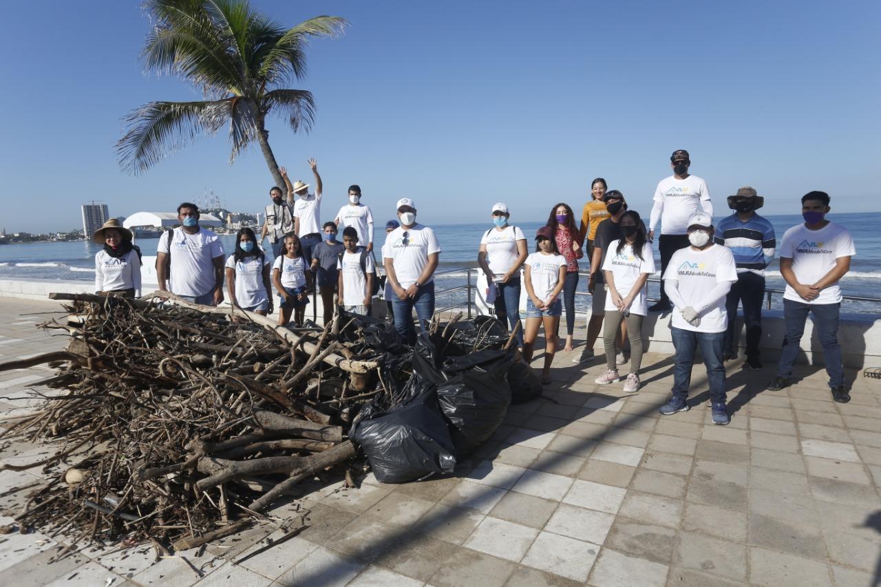 Destacan lucha de jóvenes mazatlecos por hacer del puerto un lugar mejor