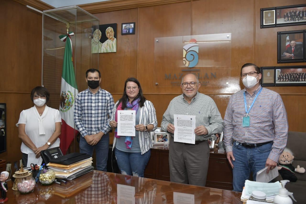Firman convenio Municipio y Estado sobre la calidad del aire en Mazatlán