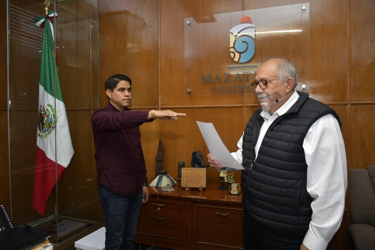 Nombran a Ricardo Legarda Herrera nuevo titular de Vivienda y Tenencia de la Tierra en Mazatlán