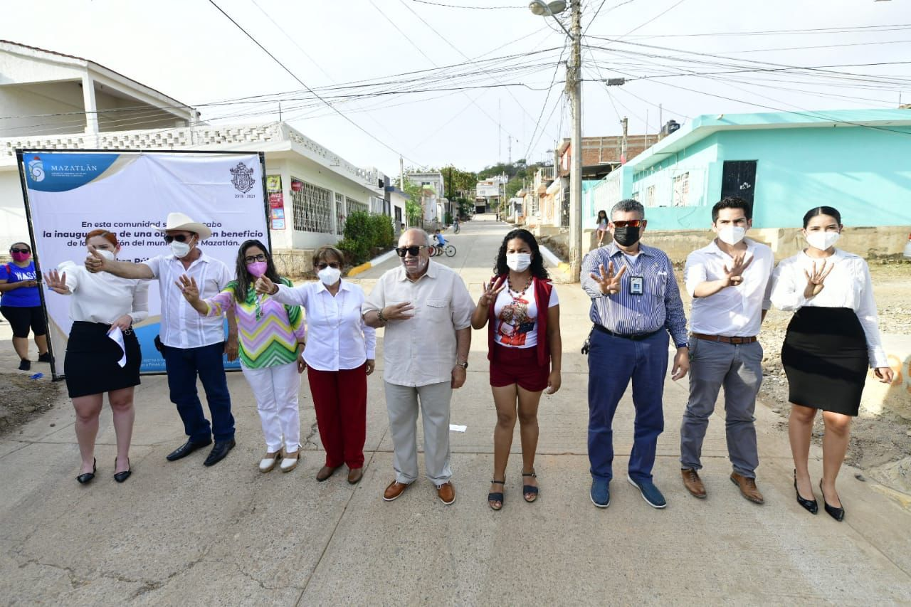Inaugura Luis Guillermo Benitez Torres seis nuevas obras en la ciudad