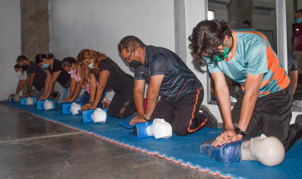 Manten la calma y salva vidas; culmina Imdem con éxito cursos de primeros auxilios