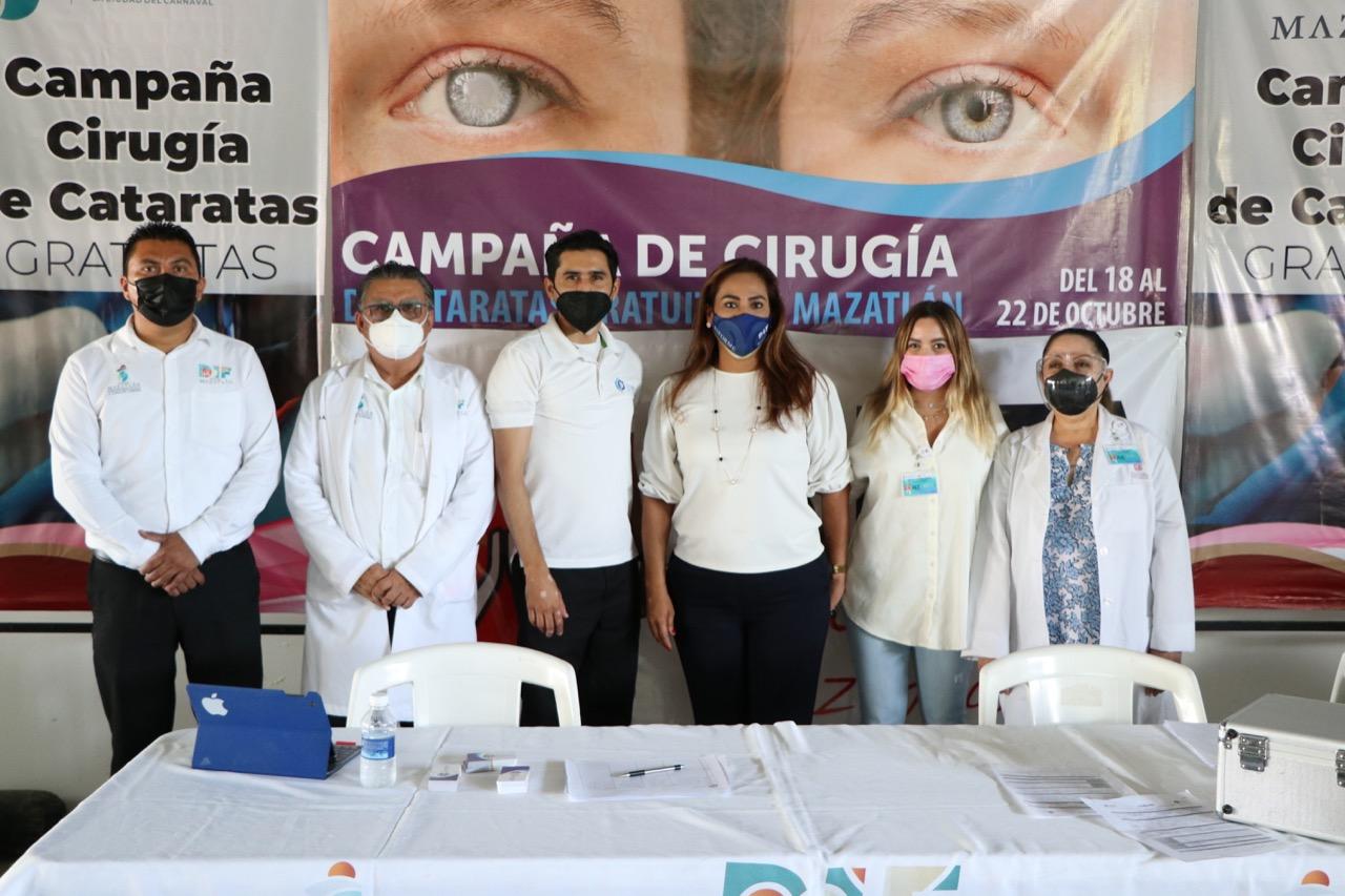 Más de 400 personas son valoradas en la Campaña de Cirugía de Cataratas de DIF Mazatlán*