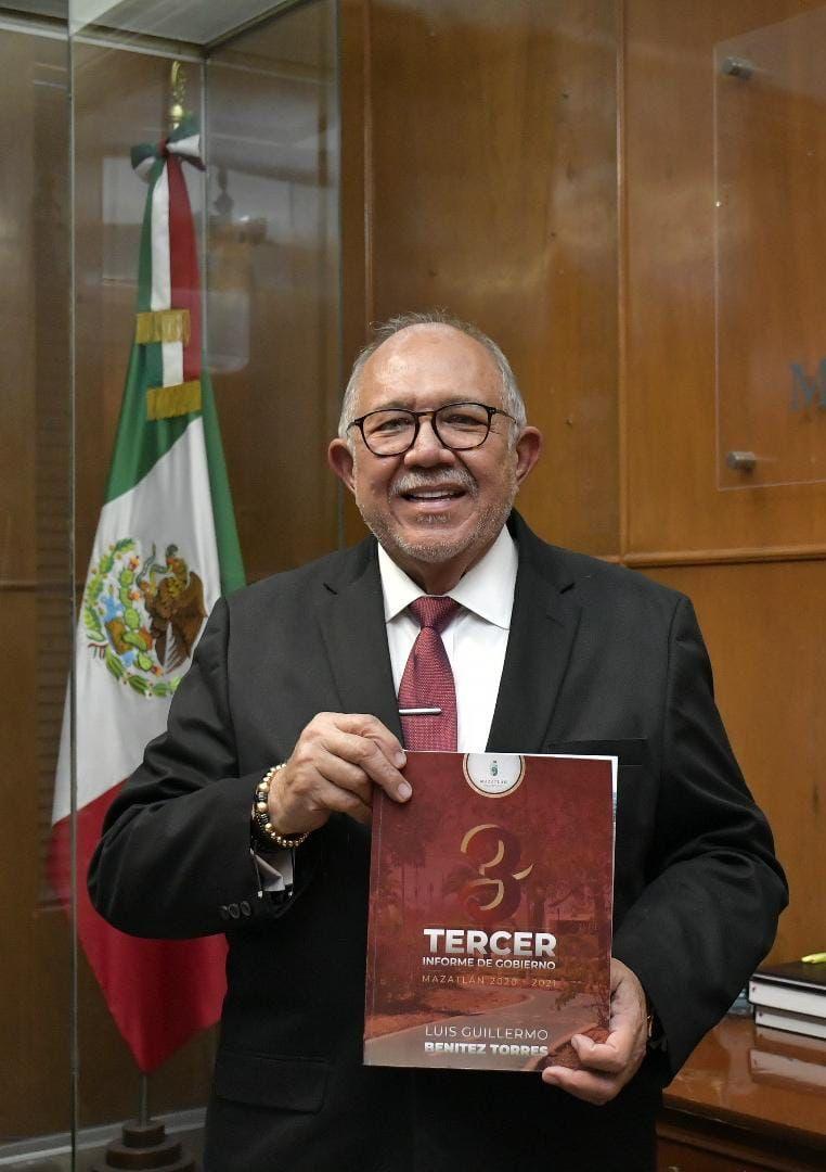 Tiene Mazatlán un Gobierno sano económicamente: Químico Benitez Torres